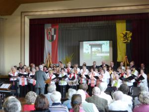 Jubiläumskonzert in Pausa am 04.06.2016